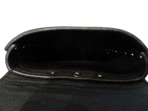 Mobile-Camera bag Black//Brown Biker//Skull//Gothic Waist bag