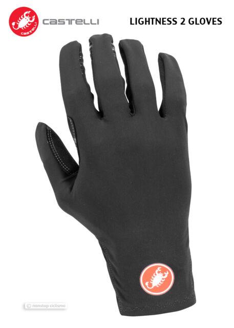 Mens Black Castelli Lightness Glove M