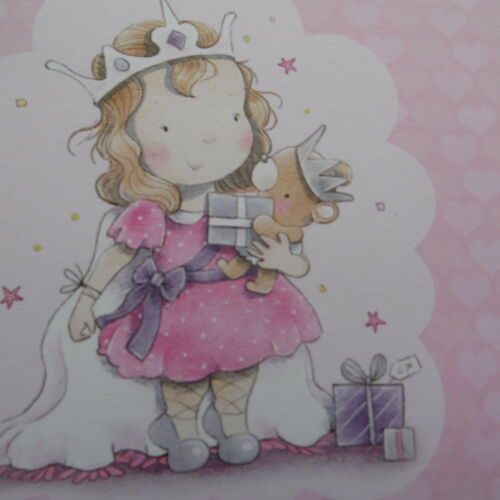 DAUGHTER 5th  BIRTHDAY AGE Relations Birthday Card Greetings Card