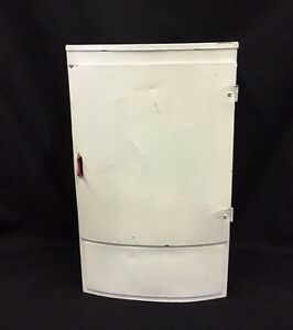 Vintage Metal Toy Doll Refrigerator 1950's Unmarked Wolverine Brand?