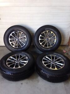 18 Inch Rims And Tires >> Details About 2004 2019 2019 Ford F150 4wd 18 Inch Takeoff Wheels And Tires Set 100 Tread