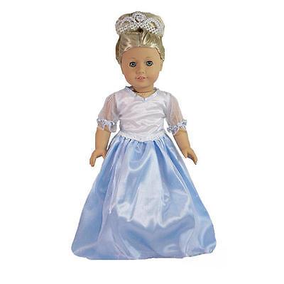 6pc Blue and White Halter//Capri Set for American Girl® and Similar Dolls