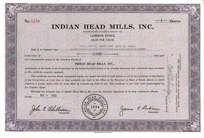Continental Foundry /& Machine Company /> 1953 Steel old stock certificate share
