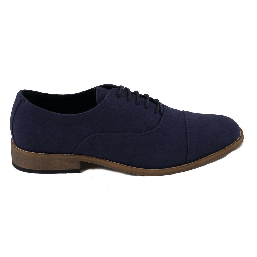 Audacieux Nae Man Vegan Shoe Oxford Blue Ecological Breathable Microsuede Casual Fresh