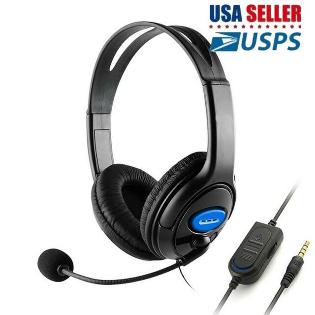 Wired Stereo Bass Gaming Headset With Microphone Office