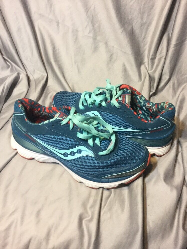 Saucony Shadow Genesis 7, Running Shoes, Women's Size 7, Genesis Blue, 1f2814