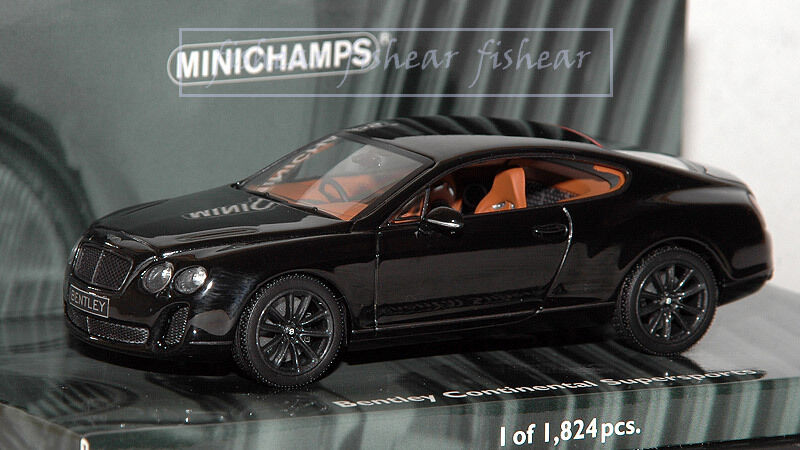 Bentley Contenental SuperSport 1 43 Minichamps