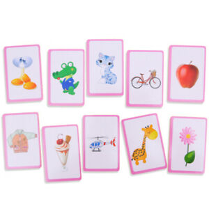 Baby-Learn-English-Pair-Puzzle-Montessori-Cognitive-Card-Infant-Educational-Toy