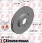 Zimmermann-SPORT-Bremsscheiben-Satz-VW-MULTIVAN-TRANSPORTER-T5-T6-PR-2E4-vorne Indexbild 3