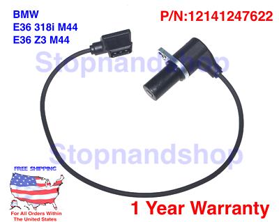 FOR 3 Series 318 E36 E46 BMW 318i Engine Crankshaft Position Sensor 12141247622