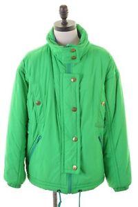 Giacca-da-sci-Colmar-da-donna-US-8-Medium-Verde-Vintage-GQ12