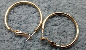 New-Gold-Plated-Small-Hoop-Earrings