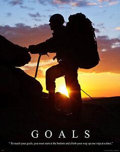 Details About Hiking Rock Climbing Motivational Poster Art Print Mountain Gear Boots Mvp202
