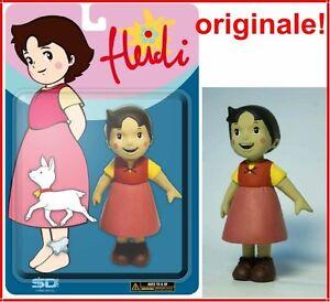 HEIDI-ACTION-FIGURES-CON-FIOCCO-DI-NEVE-E-UCCELLINO-15-cm-Manga-Anni-80