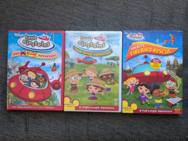 Disney Little Einsteins Team Up for Adventure Firebird Rescue Our Huge DVD Lot