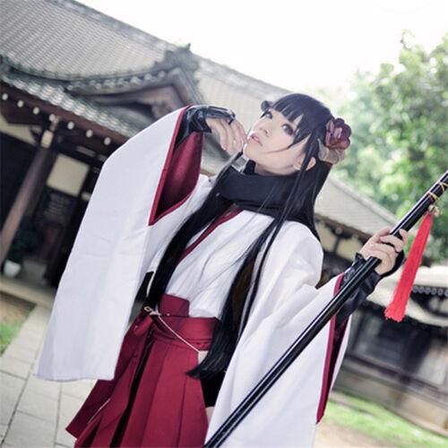 Inu x Boku SS Shirakiin Ririchiyo youkai form Cosplay Costume Suit Dress Outfit
