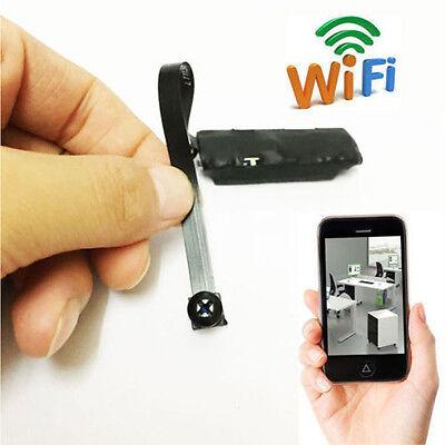 Spy Nanny CAM wireless WIFI IP Pinhole DIY Digital Video Camera Mini Micro Dvr