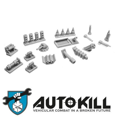 Secret Agent AutoKill Zinge Industries Gaslands 20mm scale S-DMH13