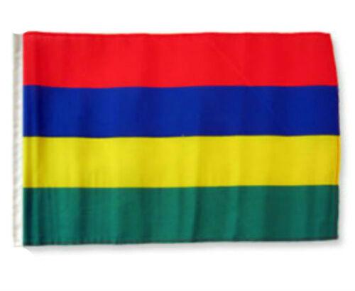 "12x18 12/""x18/"" Mauritius Sleeve Flag Boat Car Garden"