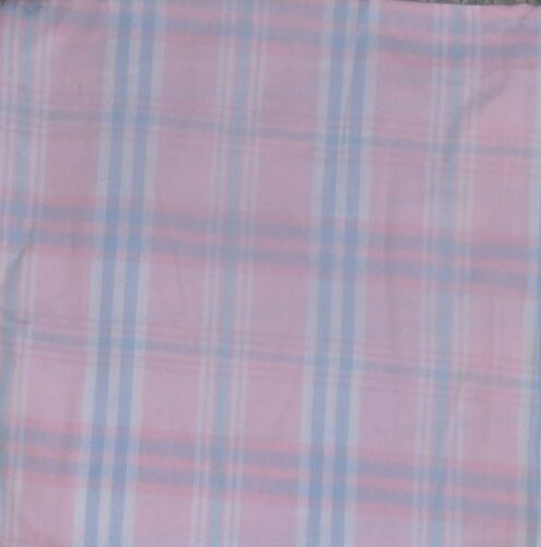 "Nightgown Plaid Flannel Popover Wonderful Price ""Made in USA"""