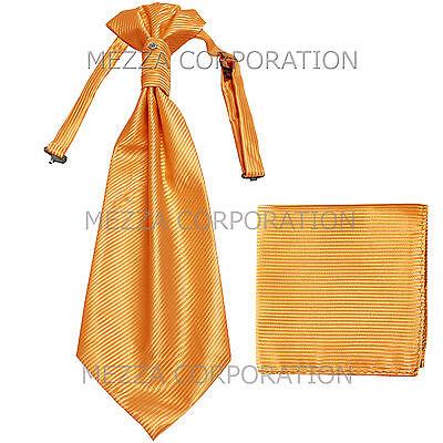 New Vesuvio Napoli Men/'s extra long necktie solid 100/% polyester prom Light Blue