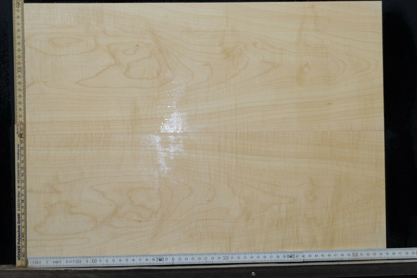 Tonewood Riegel Ahorn Flamed Maple 7,0 mm Aufleimer Guitar Tonholz Droptop 425
