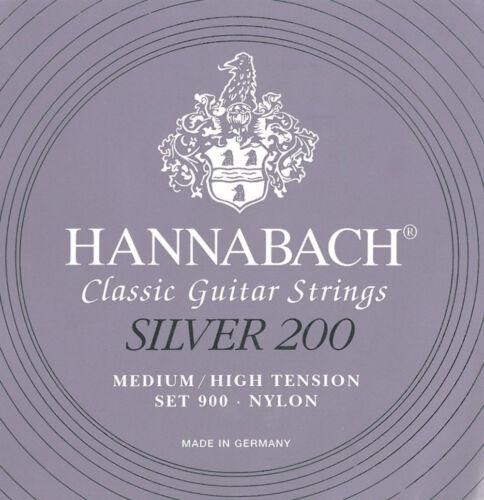 Gitarrensaiten Nylon Hannabach 900 Silver 200