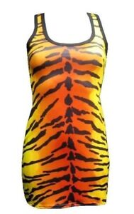 NEW-GIRLS-LADIES-TIGER-ANIMAL-PRINT-LONG-VEST-TANK-TOP-GOTH-EMO-PUNK-NIGHT-OUT