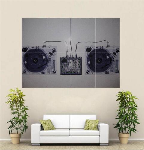 Technics X-Ray Poster A659