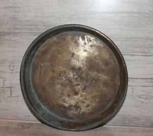 Antique-hand-made-brass-bowl