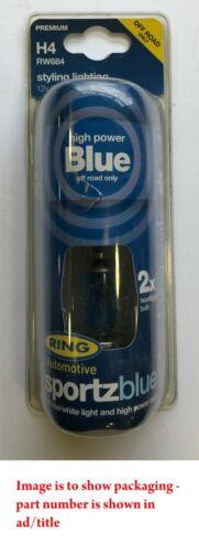 Bague Twin Pack 12 V 80 W H1 P14.5S Sportz Bleu Ampoule De Phare RW668