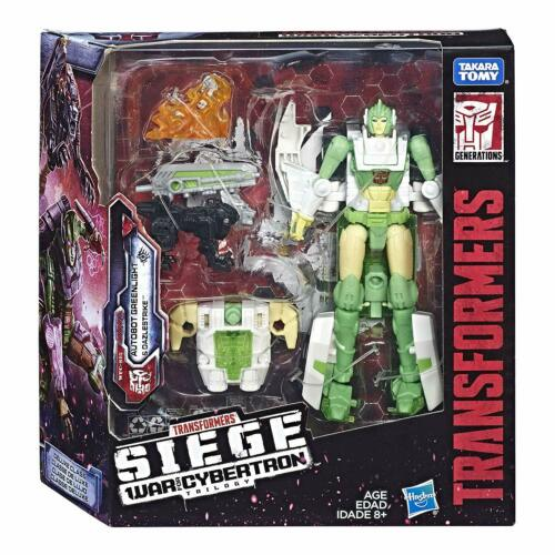 Transformers WFC War For Cybertron Siege Voyager Greenlight Action Figure NEW