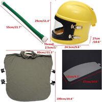 Brand Safe Sandblast Helmet Sand Blast Hood Protector With Cloak Sand Len