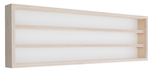 Pihami Sammler Vitrine 3HE Spur H0 /& N Märklin Regal 100 cm Birke natur