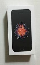 NEW SEALED! AT&T GoPhone Apple iPhone SE 4G LTE - 32GB, Space Gray, Prepaid