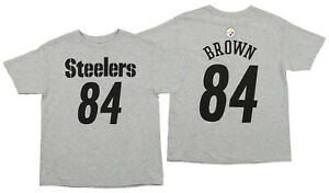 14080c0a9 Image is loading Outerstuff-NFL-Youth-Pittsburgh-Steelers-Antonio-Brown-84-