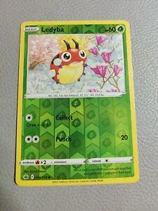 Ledyba Reverse Holo | NM | SWSH Chilling Reign 004/198 | Pokemon