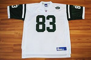 024dfb32f NEW YORK JETS AMERICAN FOOTBALL SHIRT JERSEY №83 MOSS REEBOK XL ...