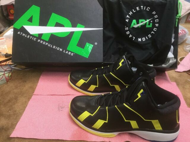 9230e4a1ecfb NWB Athletic Propulsion Labs APL Concept 2 Black Banned Basketball Shoes 17