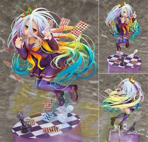 Anime No Game No Life Shiro 20cm PVC Action Figure Model Toy In Box Collection