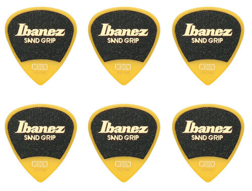 IBANEZ PPA16MSG-YE Medium Sand Grip 0,8mm 6St