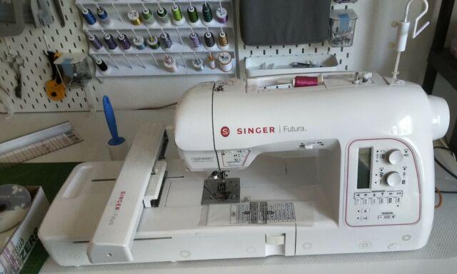 Singer Stickmaschine Futura Xl 400 Gunstig Kaufen Ebay