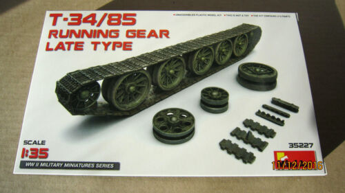 T-34//85 Running gear late type  1//35  Mini Art  # 35227