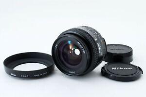 Nikon-AF-Nikkor-24mm-f2-8-Weitwinkel-AF-Objektiv-mit-Kapuze-TOP-aus-Japan