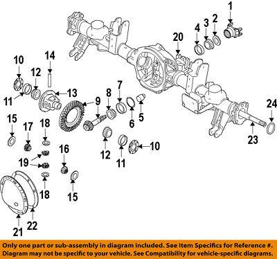 Mopar 68340289AA Differential Pinion Bearing