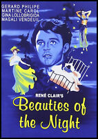 René Clair's beauties Of The Night - 1952 - Gérard Philipe, Gina Lollobrigida