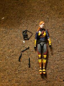 "G.I. Joe Classified 6"" Scarlet Action Figure Loose Complete"