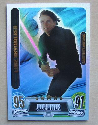 Star Wars Force Attax Serie 3 LE1 Anakin Skywalker Limitierte Auflage Topps  NEU
