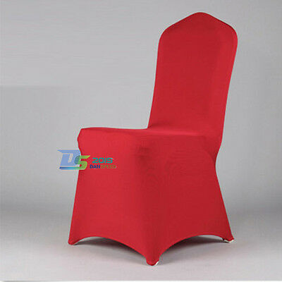Top Quality Lycra Spandex Elastic Chair Covers Banquet Wedding Party Decoration