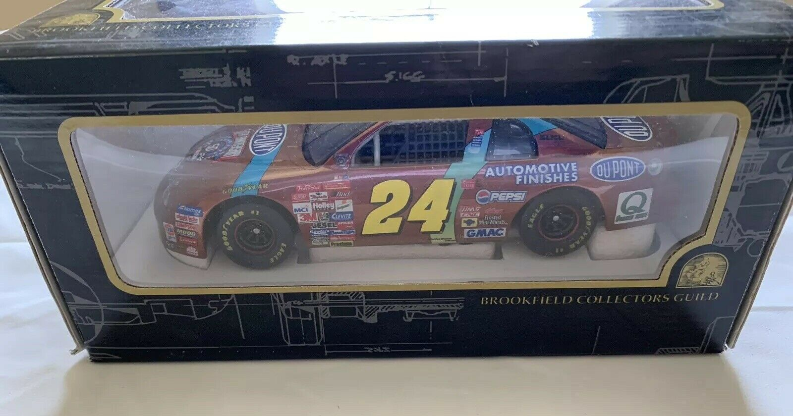 Jeff Gordon Brookfield Collectors Guild Chromalusion Chevy Nascar 1 24